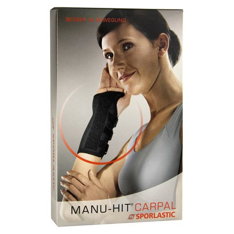 MANU-HIT CARPAL Orthese links Gr.M haut 07233 1 Stück