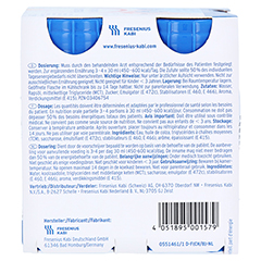 FRESUBIN 5 kcal SHOT Neutral Lösung 24x120 Milliliter - Rückseite