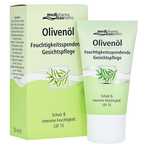 OLIVENÖL feuchtigkeitsspendende Gesichtspflege 50 Milliliter