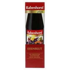 RABENHORST Eisenblut plus Saft 450 Milliliter - Vorderseite