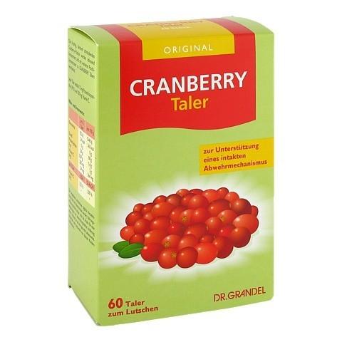 Cranberry Cerola Taler Grandel 60 Stück