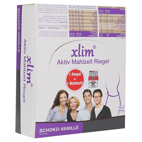XLIM Aktiv Mahlzeit Riegel Schoko-Vanille 12x75 Gramm