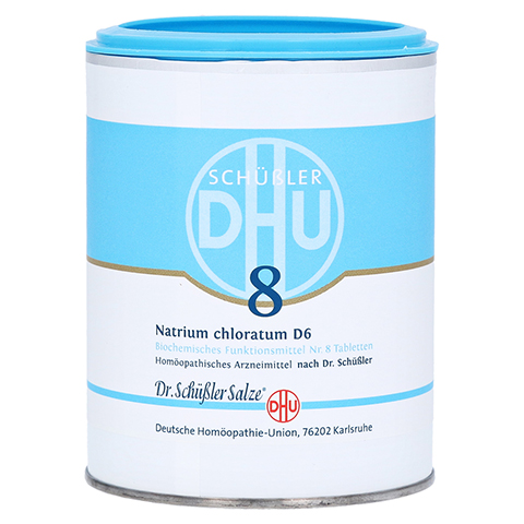 BIOCHEMIE DHU 8 Natrium chloratum D 6 Tabletten 1000 Stück