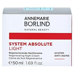 BÖRLIND system absolute Nachtcreme light 50 Milliliter - Vorderseite