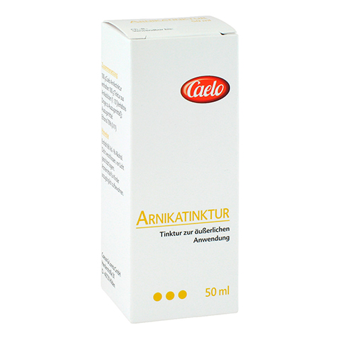 ARNIKA TINKTUR Caelo HV-Packung 50 Milliliter