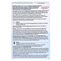 DOPPELHERZ Haut Plus system Tabletten+Kapseln 60 Stück - Rückseite