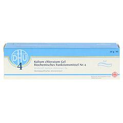 BIOCHEMIE DHU 4 Kalium chloratum D 4 Gel 50 Gramm N1 - Vorderseite