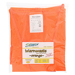 SENADA Warnweste orange im Beutel 1 St�ck