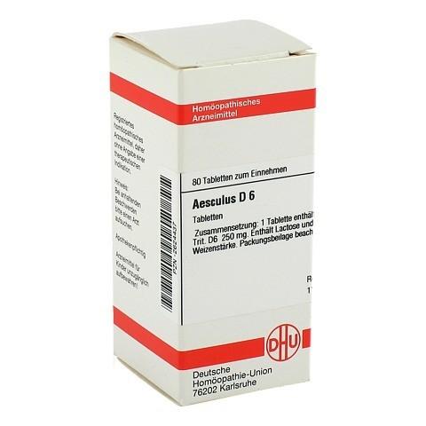 AESCULUS D 6 Tabletten 80 St�ck N1