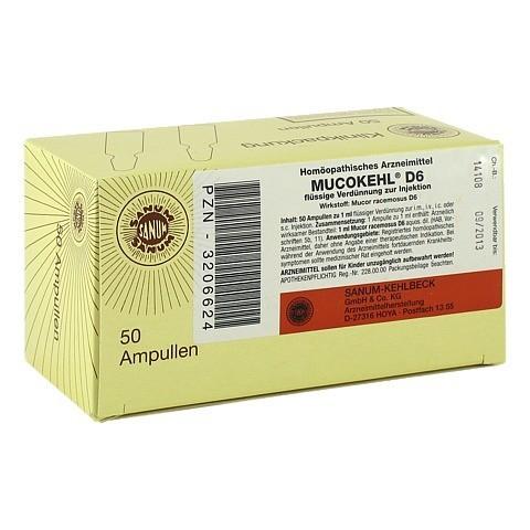 MUCOKEHL Ampullen D 6 50x1 Milliliter