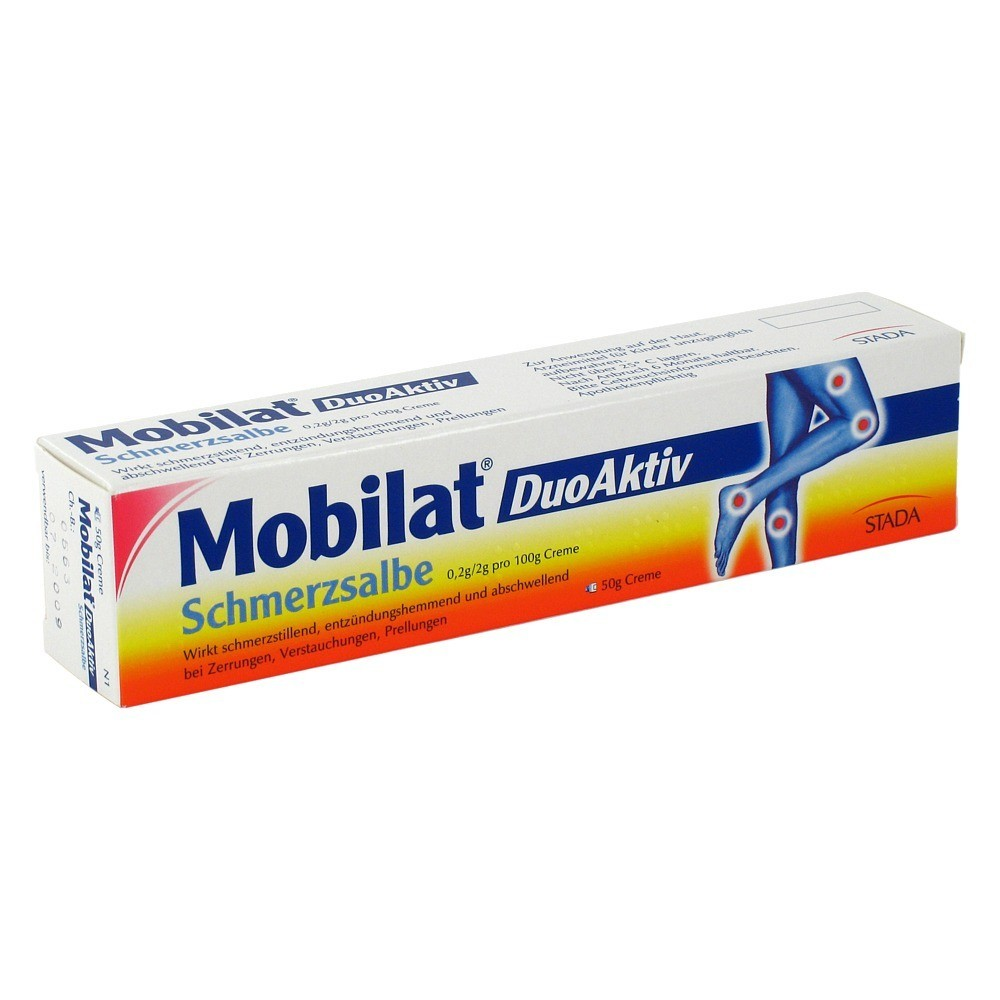 STADA GmbH Mobilat DuoAktiv Schmerzsalbe Salbe 50 Gramm