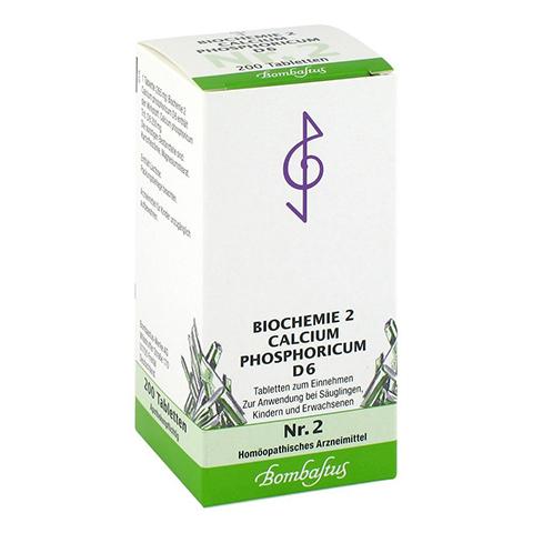 BIOCHEMIE 2 Calcium phosphoricum D 6 Tabletten 200 Stück N2