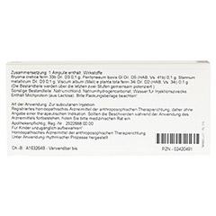 VISCUM/BRYONIA comp.Ampullen 10x1 Milliliter N1 - Rückseite
