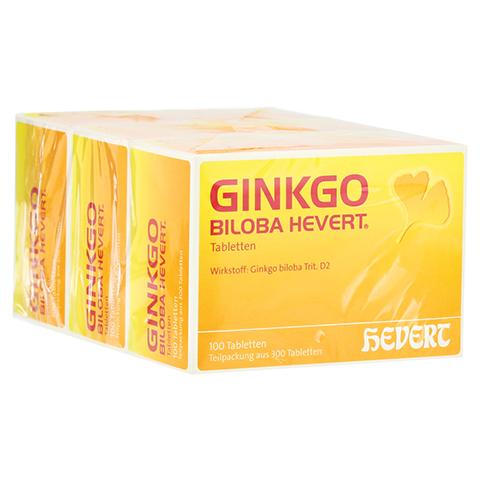 GINKGO BILOBA HEVERT Tabletten 300 Stück N3