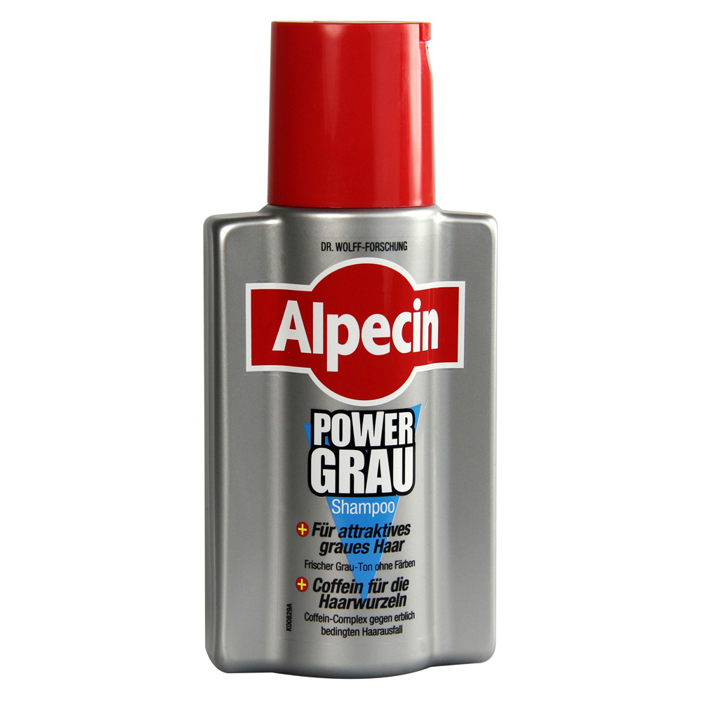 alpecin power grau shampoo 200 milliliter online bestellen. Black Bedroom Furniture Sets. Home Design Ideas