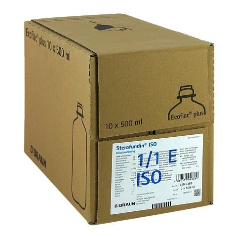 STEROFUNDIN ISO Ecoflac Plus Infusionsl�sung 10x500 Milliliter N2