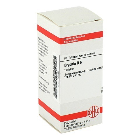 BRYONIA D 6 Tabletten 80 Stück N1