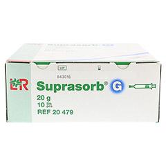 SUPRASORB G Amorphes Gel Spritze 20 g 10x20 Gramm - Vorderseite