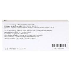 ARTICULATIO genus GL D 15 Ampullen 10x1 Milliliter N1 - R�ckseite