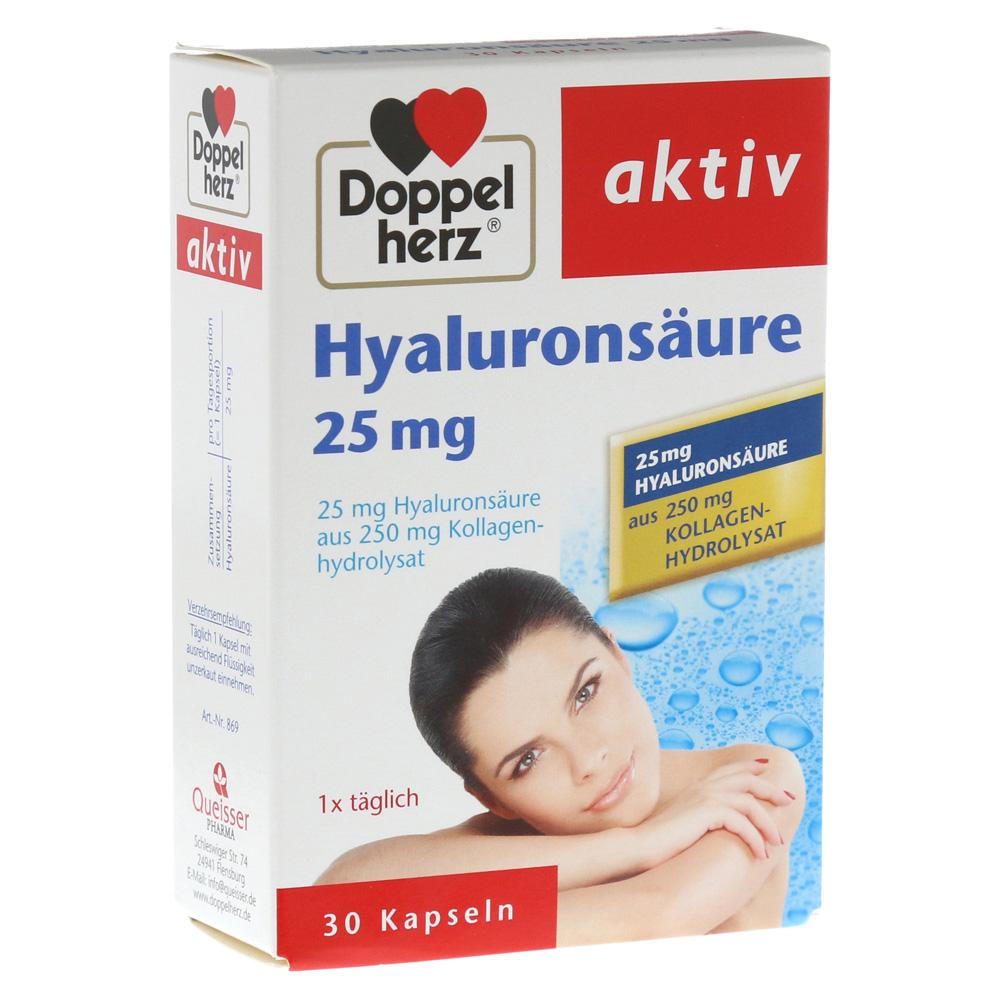erfahrungen zu doppelherz hyalurons ure 25 mg kapseln 30. Black Bedroom Furniture Sets. Home Design Ideas