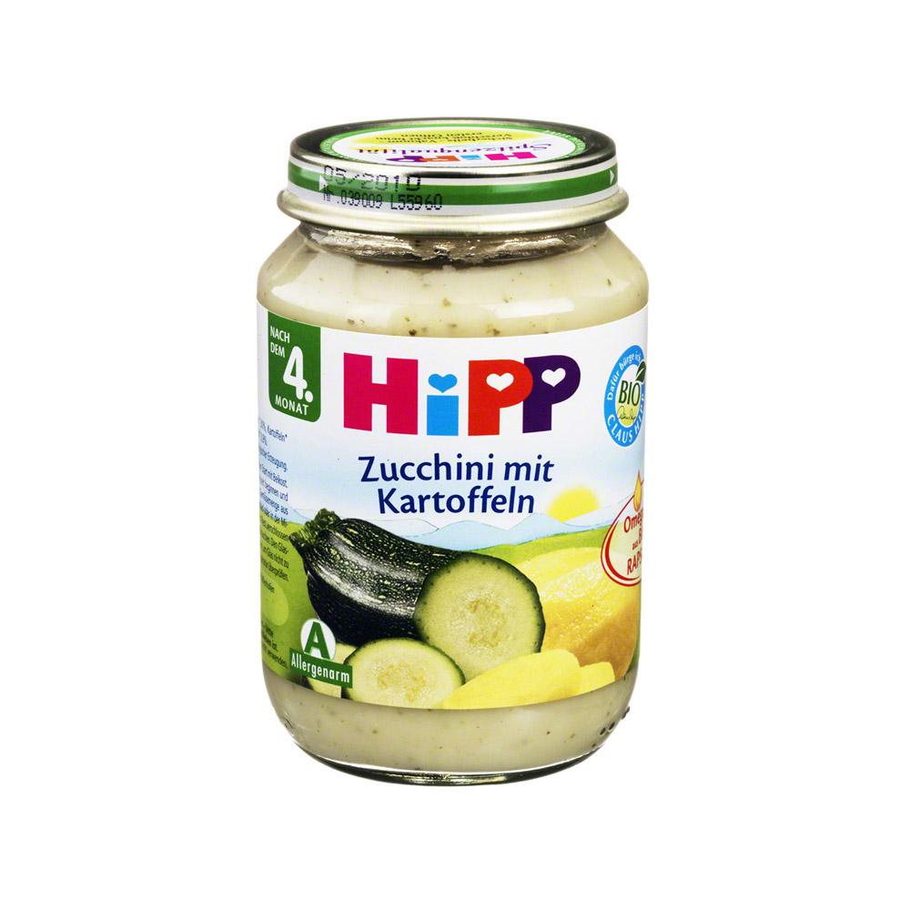 hipp bio gem se zucchini m kartoffeln 190 gramm online. Black Bedroom Furniture Sets. Home Design Ideas