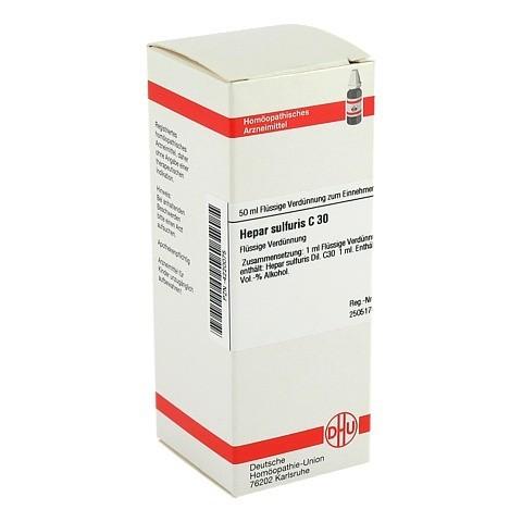 HEPAR SULFURIS C 30 Dilution 50 Milliliter