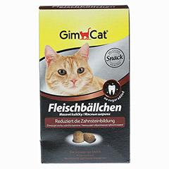 GimCat Fleischbällchen für Katzen 100 Gramm - Vorderseite