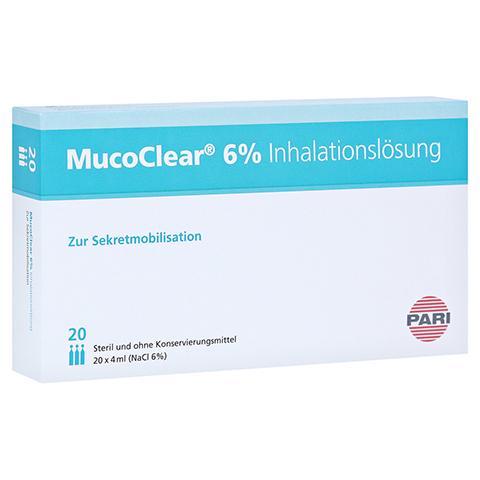 MUCOCLEAR 6% NaCl Inhalationslösung 20x4 Milliliter