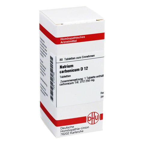 NATRIUM CARBONICUM D 12 Tabletten 80 Stück N1