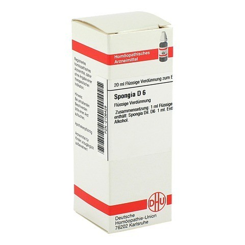 SPONGIA D 6 Dilution 20 Milliliter N1