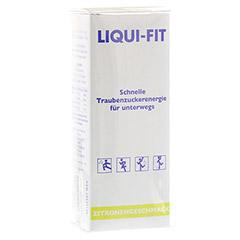 LIQUI FIT flüssige Zuckerlösung Lemon Beutel 12 Stück