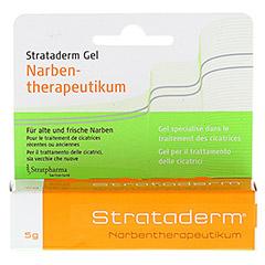 STRATADERM Narbentherapeutikum Gel 5 Gramm - Vorderseite