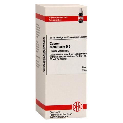 CUPRUM METALLICUM D 6 Dilution 50 Milliliter N1