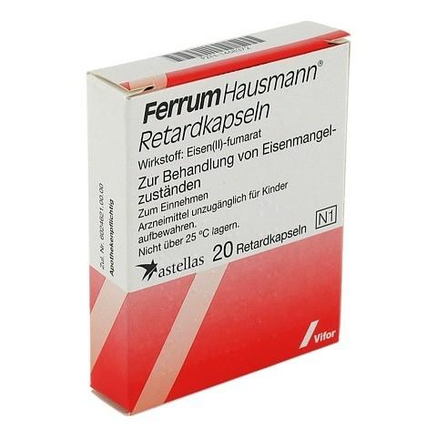 Ferrum Hausmann 100mg Eisen 20 Stück N1