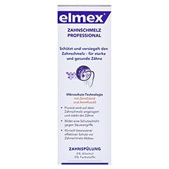 ELMEX Zahnschmelzschutz PROFESSIONAL Zahnspülung 400 Milliliter - Vorderseite
