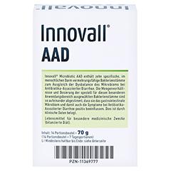 INNOVALL Microbiotic AAD Pulver 14x5 Gramm - Rückseite
