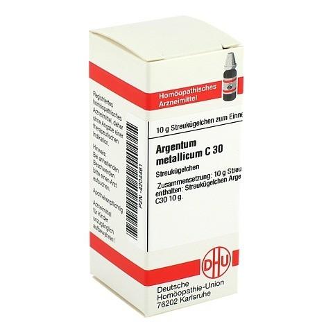 ARGENTUM METALLICUM C 30 Globuli 10 Gramm N1