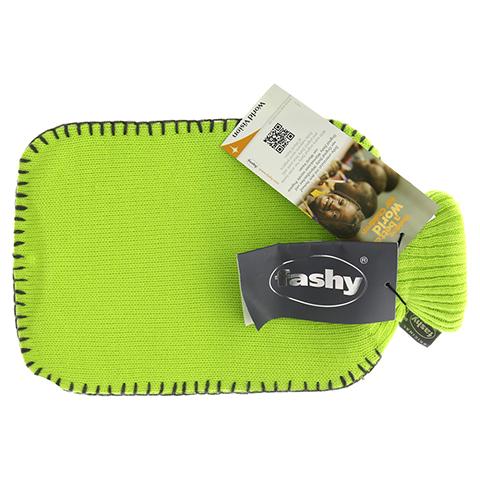 FASHY Wärmflasche mit Rollkragen Strickb.hellgrün 1 Stück