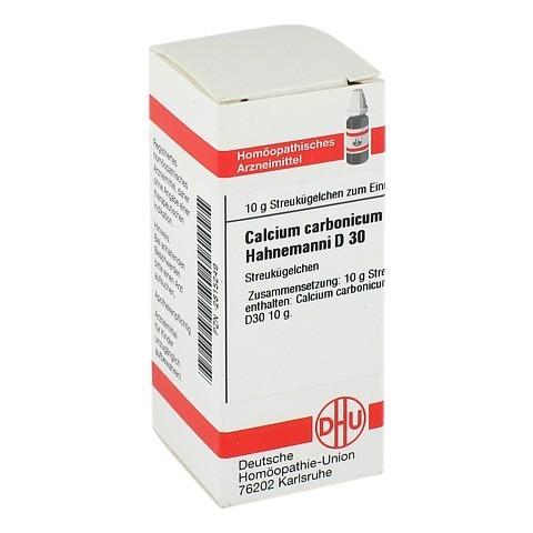 CALCIUM CARBONICUM Hahnemanni D 30 Globuli 10 Gramm N1