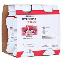 RESOURCE Energy Erdbeer/Himbeer 4x200 Milliliter