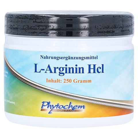 ARGININ HCL Pulver 250 Gramm