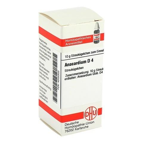 ANACARDIUM D 4 Globuli 10 Gramm N1