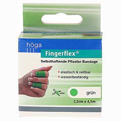 FINGERFLEX Binde 2,5 cmx4,5 m gr�n 1 St�ck - Vorderseite