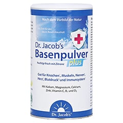BASENPULVER plus Dr.Jacob's 300 Gramm