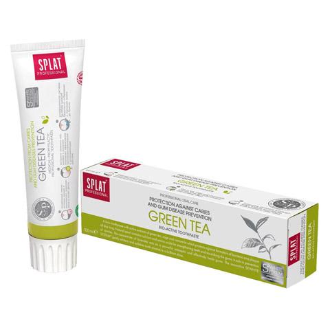 SPLAT Professional Green Tea Zahncreme 100 Milliliter
