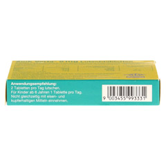 ZINK VERLA 5 mg Lutschtabl.Himbeere 50 Stück - Unterseite
