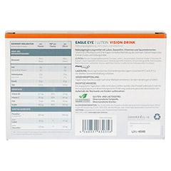 EAGLE EYE Lutein Vision Drink 5x50 Milliliter - Rückseite
