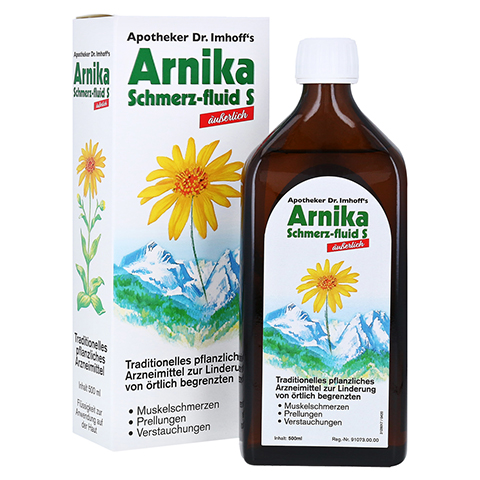 APOTHEKER Dr.Imhoff's Arnika Schmerz-fluid S 500 Milliliter