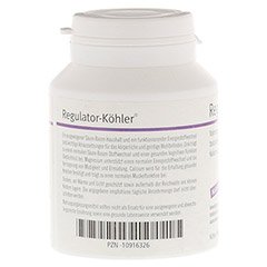 REGULATOR-Köhler magensaftresistente Kapseln 100 Stück - Linke Seite
