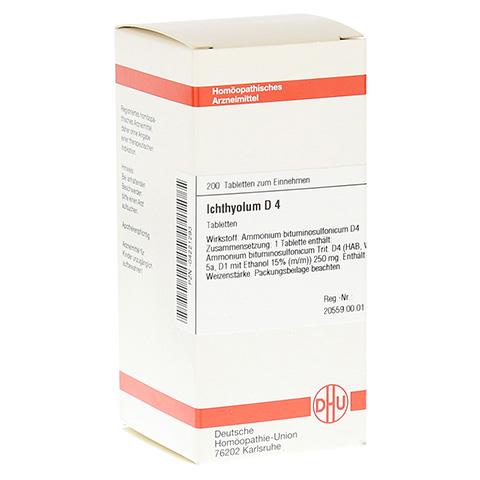 ICHTHYOLUM D 4 Tabletten 200 Stück N2